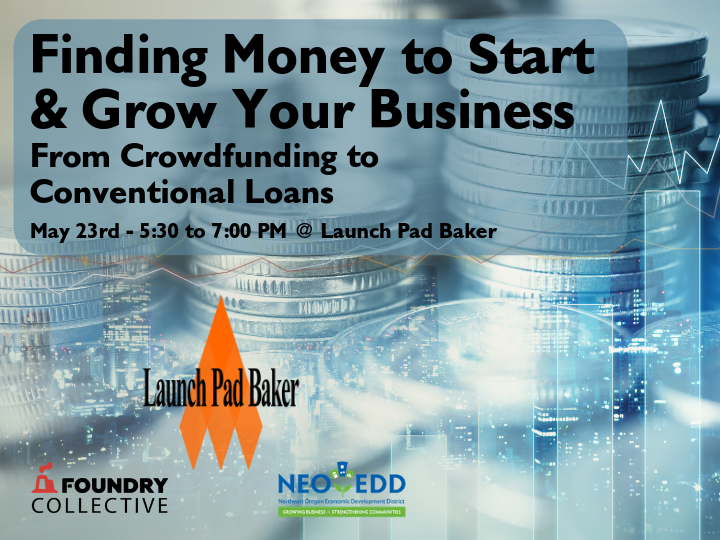 Finding Money to Start & Grow Your Business - Launch Pad Baker