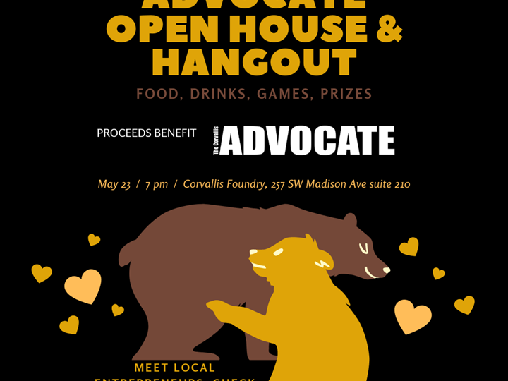 The Corvallis Advocate Openhouse & Hangout