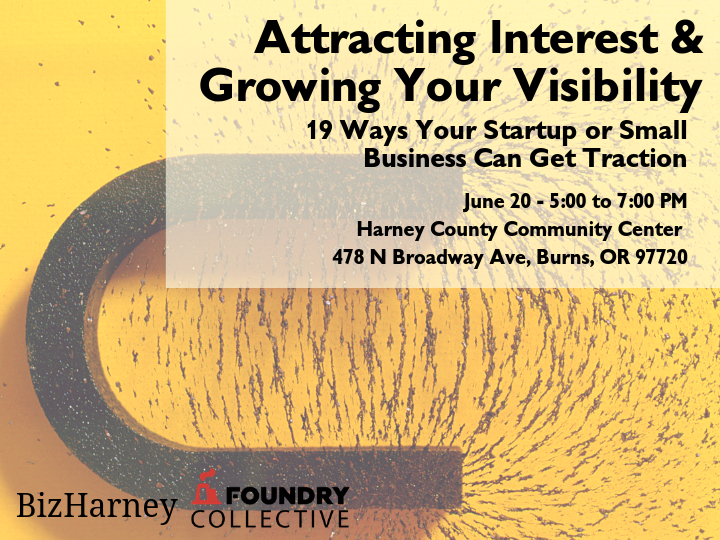 Attracting Interest & Growing Your Visibility
