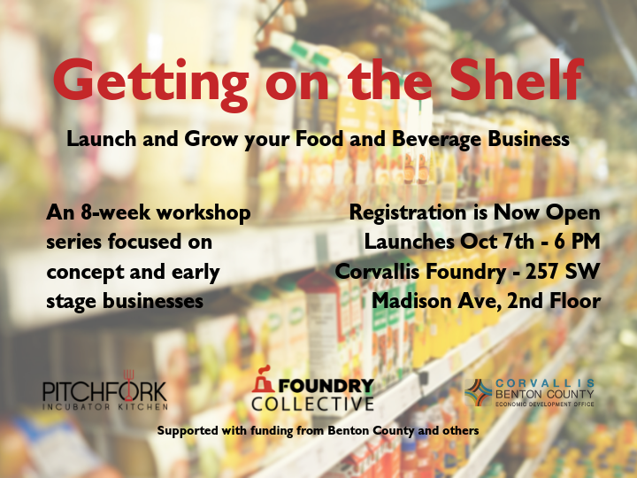 Getting on the Shelf - Launch and Grow your Food and Beverage Business