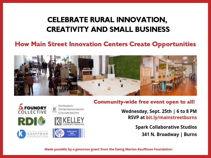 Main Street Entrepreneurship and Innovation Centers