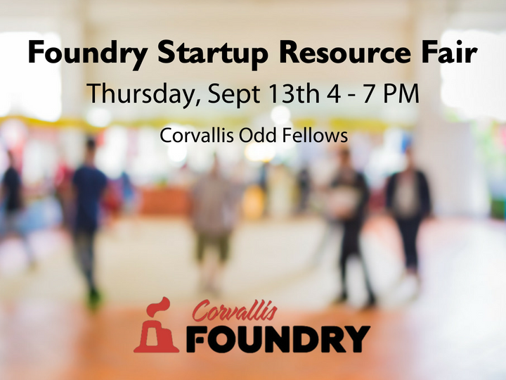 Foundry Startup Resource Fair