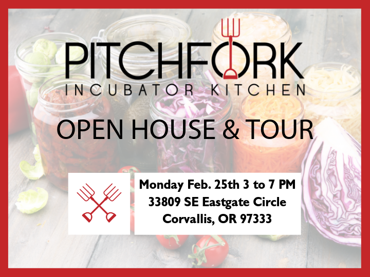 Pitchfork Incubator Kitchen Open House